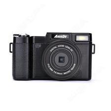 AMKOV AMK-R2 1080P Digital Camera DSLR DVR + Wide Angle Len + VCT-520 Tripod BJ9