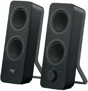 Logitech Z207 Wireless Bluetooth PC Speakers, Stereo Sound, 10 Watts Peak Power