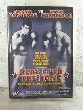 Play It To The Bone DVD - Action/ BOXING MOVIE - Region 4 aust