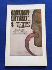ANTONIN ARTAUD: 4 TEXTS - FIRST EDITION