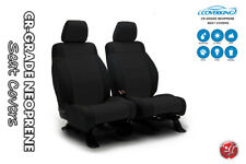 Coverking Genuine Neoprene Black Front Tailored Seat Covers for Jeep Wrangler