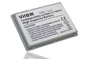 Batterie pour Dell Axim X30i (X1111, 310-4268)