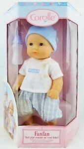 Corolle Fanfan French Designed Baby Doll that Wets Like a Real baby (Stained)