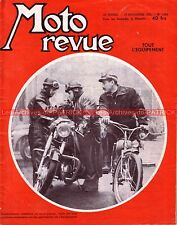 MOTO REVUE 1264 BSA 500 A7 ; BMW R50 Dossier ; L'équipement du Motocyclisme 1955