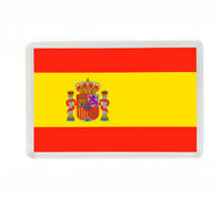 BANDERA ESPAÑA FLAG FRIDGE MAGNET IMAN NEVERA