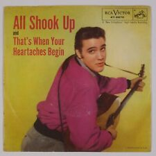 ELVIS PRESLEY: All Shook Up US RCA 47-6870 Rockabilly Orig 45 w/ PS HEAR