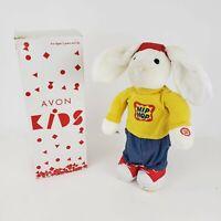 "AVON KIDS 2002 Animated Singing Hopping Moves HIP HOP HARRY Bunny Rabbit 15"""