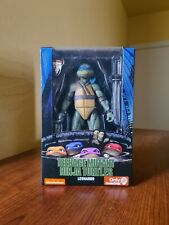 NECA 7? Leonardo 1990 Movie Ninja Turtles TMNT GameStop Exclusive Figure