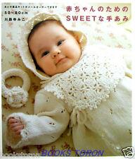 Sweet Knit for Baby /Japanese Crochet-Knitting Baby's Wear Pattern Book