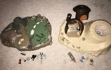 Star Wars Micro Machines Galoon Playset Lot - Degobah And Tatooine