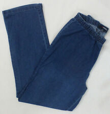 Denim 24/7 Womens Elastic Waist Stretch Jean Pant #4985, Blue, Size 16W, NWOT