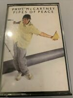 PAUL MCCARTNEY Pipes Of Peace (Cassette Tape)