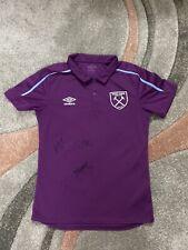 More details for west ham united fc women's signed polo shirt x3 de graaf flaherty stringer