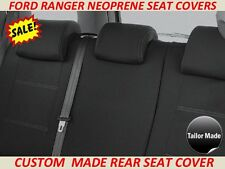 FORD RANGER PX1 & PX2  CUSTOM MADE REAR NEOPRENE SEAT COVER ( WETSUIT MATERIAL )