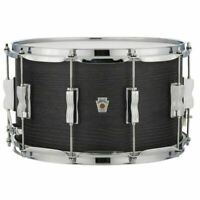 "Ludwig LKS784XXBH Keystone X Series 8"" x 14"" Snare Drum, Night Oak"