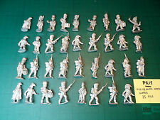 FR15 FOUNDRY PERRY 25 / 28mm NAPOLEONIC FRENCH IMPERIAL GUARD 35 FIGURES