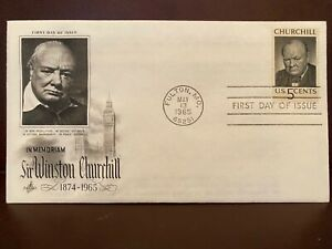 Winston Churchill / First Day of Issue / 13.05.1965