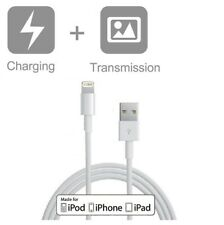 6ft (2M) Data Sync & Charging USB cable for iPhone 5,6,7,8,X,XR,XS,11,SE,SE 2