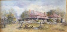 Ray Macminn Original Oil On Board. A listed Australian artist.