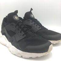 Nike Air Huarache Ultra Running Shoes 819685-016 Black White Men's Size 12
