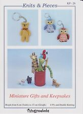 VAT Hand Knitting Pattern Only to Make Miniature Gifts & Keepsakes Kp26