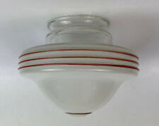vintage GLASS KITCHEN CEILING LAMP SHADE