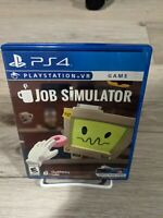 Job Simulator PS4 VR Game - Tested, Immaculate Disc, CLEAN