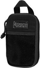 "Maxpedition MX262B Micro Pocket Organizer Black 3.5"" Wide x 5.5"" High x 1"" Deep"