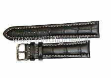 cinturino nero MORELLATO for breitling croco black strap 22mm (TOP QUALITY)
