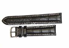 cinturino nero MORELLATO breitling croco black strap 20mm (TOP QUALITY)