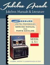 New! Seeburg Ls1 Spectra, Service, Parts, Installation Manual
