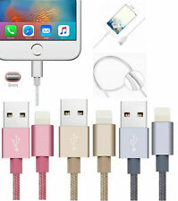 Magnetic Braided Lightning charger Charging Cable Adapter For Iphone 5,6,7 Ipad