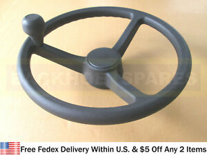 JCB PARTS- STEERING WHEEL WITH KNOB (PART NO. 125/35000 125/34900)