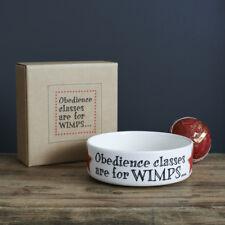 Sweet William Dog Bowls Dish Pet Bowl Ceramic Food / Water Bowl 28 fl oz FREEP&P