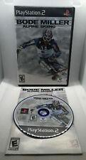 Bode Miller Alpine Skiing - Complete CIB - Playstation 2 PS2