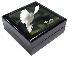 White 'Peace' Dove Keepsake/Jewellery Box Christmas Gift, AB-D4JB