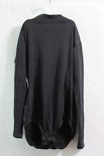 Women's Coach's Corner Black Turtleneck Leotard Bodysuit Size Adult Small