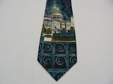 UNITED STATES CAPITOL - WASHINGTON D.C. - BEST PLUS - HAND MADE NECK TIE!