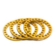 "4pcs Metal 1.9""  Beadlock Wheel Rings Replacement part for 1/10 RC Axial SCX10"