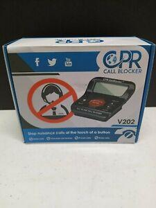 CPR Phone Call Blocker V202 Blocks Robocalls, Scam Calls, Unwanted Calls