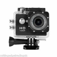 1080p Action Sport Bike Cam Camera Waterproof HD Video Helmetcam A9 DV Black UK