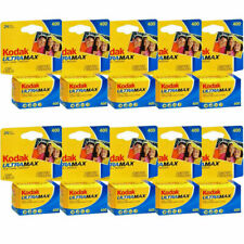 10 Rolls Kodak Gc 24 UltraMax 400 Iso Color Print 35mm exp 2/ 2023