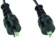 CABLE HAUT-PARLEUR FICHE DIN HP MALE / MALE 5,0M