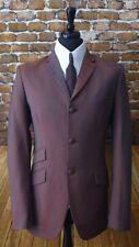 Mod Suit Two Tone Suit 3 Button Slim Fitting Suit 1960's Mohair 3 Ply