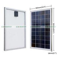 25Watt 12V Poly Solar Panel for Battery Charger Solar Module 25W PV Cells Panel
