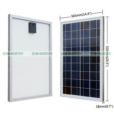 25W 12V Poly Solar Panels 25Watt PV Solar Power Module Panel Home Battery Charge