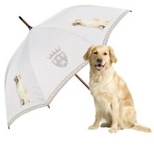 Von Lilienfeld Designer Automatic Walking Umbrella Golden Retriever Dog Lovers