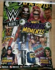 WWE Kids magazine #174 2021 WWE Scariest Moments + 2021 Trading Cards & poster