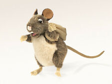 *NEW* PLUSH SOFT TOY Folkmanis 2847 Pack Rat Full Body Hand Puppet