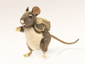 NEW PLUSH SOFT TOY Folkmanis 2847 Pack Rat Full Body Hand Puppet